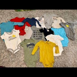 6-9 month lot of baby boy clothes